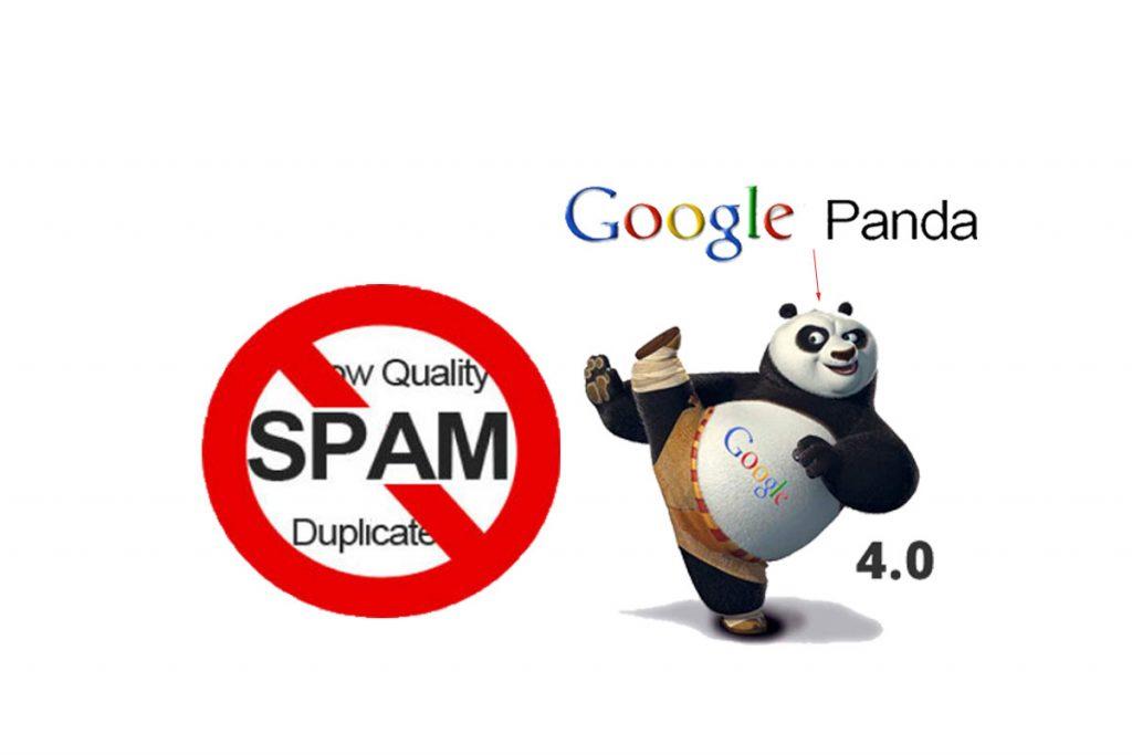 Thuật toán Google Panda phạt