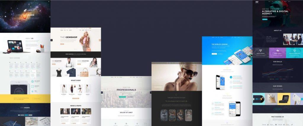 thiết kế website nef digital