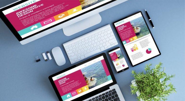 Phần mềm thiết kế web kéo thả