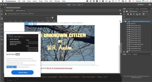 Thiết kế web kéo thả với Adobe DreamWeaver