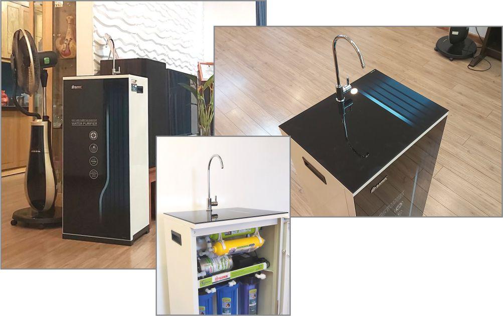 Hình ảnh sản phẩm máy lọc nước thương hiệu Sawa