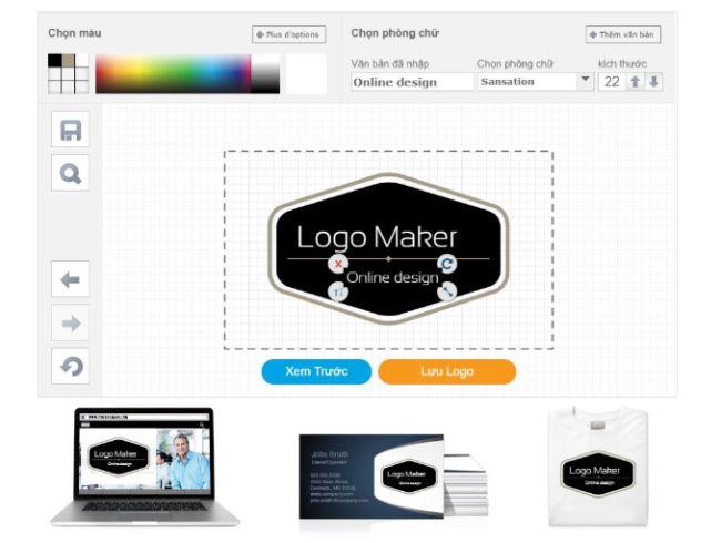 Phần mềm thiết kế logo Online