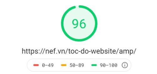 Tốc độ website với việc sử dụng AMP