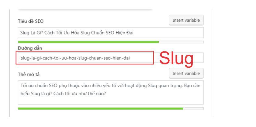 Slug là gì?